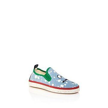 Stella McCartney Boys' Splash Denim Slip-On Sneakers - Toddler, Little Kid, Big Kid