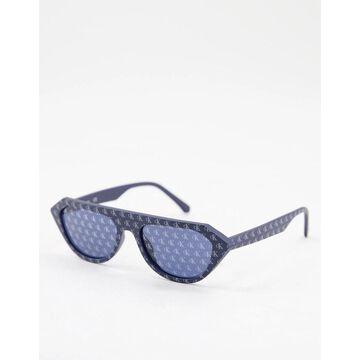 Calvin Klein Jeans logo printed sunglasses black