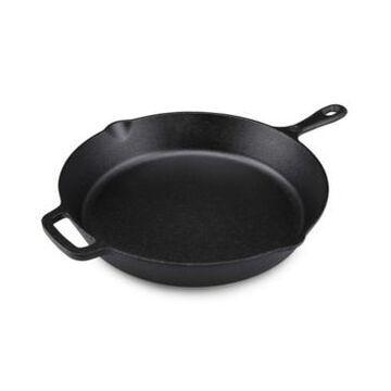 "Westinghouse 10"" Seasoned Cast Iron Saute Round Skillet"