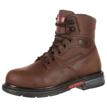 Rocky Work Boots Mens 6
