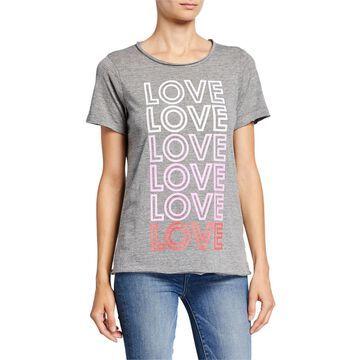 Love Graphic Basic T-Shirt