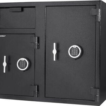 Barska 12.83-cu ft Keyed Commercial/Residential Floor Safe Safe in Black | AX13316