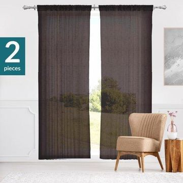 Chicology Sheer Curtain Panels