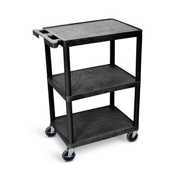 Luxor 34-in Shelf Utility Cart