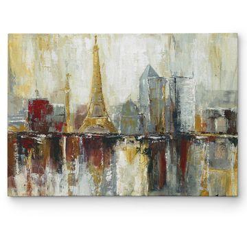 Wexford Home 'Paris Icons' Multicolored Canvas Artwork