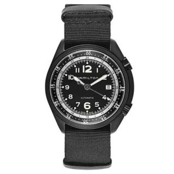 Hamilton Khaki Aviation Fabric and Aluminum Men's Watch