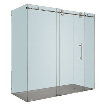 Aston Langham Completely Frameless Sliding Shower Enclosure