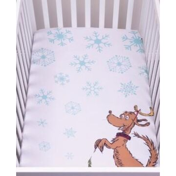 Max Flannel Photo Op Crib Sheet Bedding