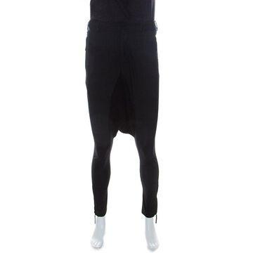 Jean Paul Gaultier Black Stretch Jodhpur Trousers S