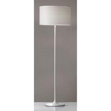 Adesso Oslo White Floor Lamp