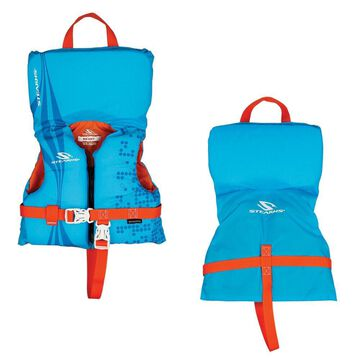 STEARNS 2000029260 INFANT ANTIMICROBIAL LIFE JACKET BLUE UP TO 30 LBS