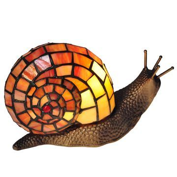 Dale Tiffany Tiffany Snail Accent Lamp