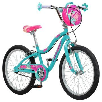 Schwinn 20-inch Girls SmartStart Mist Teal Sidewalk Bicycle