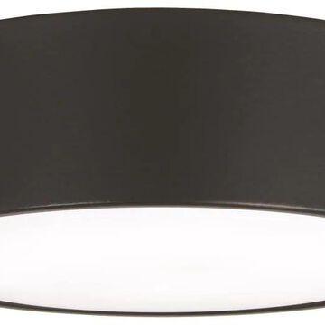 Minka Aire Simple 1-Light Coal LED Ceiling Fan Light Kit   K9787L-CL