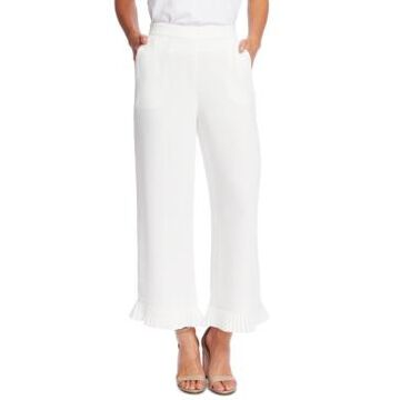 CeCe Pleated Crepe Pants