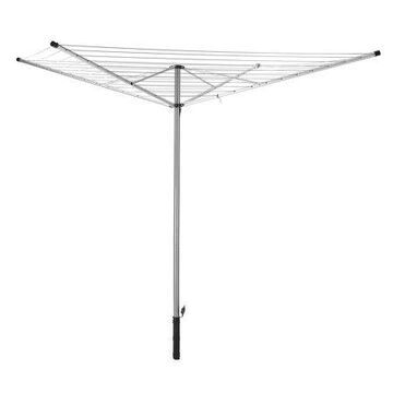 Whitmor Rotary Outdoor Clothes Dryer - Silver - 74.25