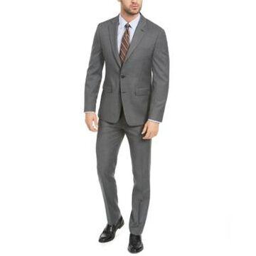 Van Heusen Men's Flex Plain Slim Fit Suits