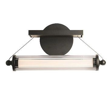 Hubbardton Forge Libra LED Sconce - Color: Clear - 209105-1002