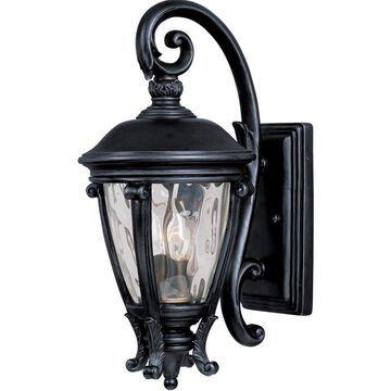 Maxim Lighting Camden VX 19-in H Black Candelabra Base (E-12) Outdoor Wall Light