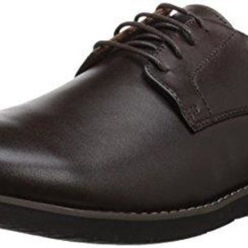 Propet Men's Grisham Oxford, Chocolate, 13 M US