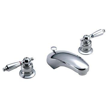 Symmons Unity Polished Chrome 1-handle Bathtub and Shower Faucet