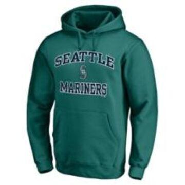 Majestic Seattle Mariners Men's Rookie Heart & Soul Hoodie