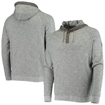 Levelwear Miami Marlins Gray Salute Cameron Raglan Pullover Hoodie