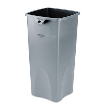Rubbermaid Commercial Untouchable Square Container 23gal Gray 356988GY