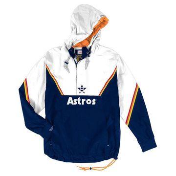 Men's Houston Astros Anorak Half-Zip Pullover