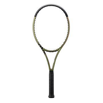 "Wilson Blade 100L v8 Tennis Racket - Size: 4 1/8"" (1) Grip - Unstrung"