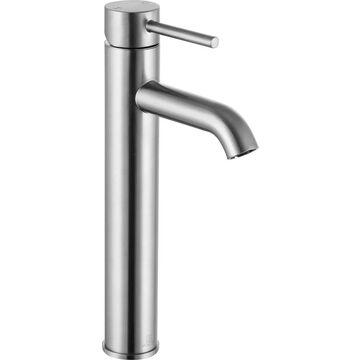 ANZZI Valle Brushed Nickel 1-handle Single Hole WaterSense Bathroom Sink Faucet | L-AZ108BN