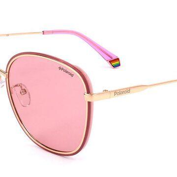 Polaroid PLD 6117/G/S EYR Womenas Sunglasses Gold Size 61