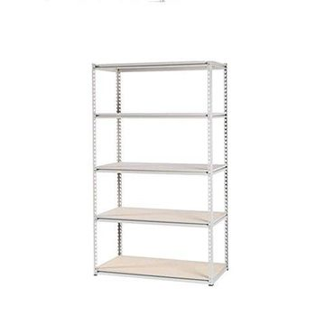 Tennsco LSS-482484 Stur-d-stor Shelving, Five-shelf, 48w X 24d X 84h, Sand