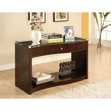 Furniture of America Brook Contemporary Espresso Console Table (Espresso)