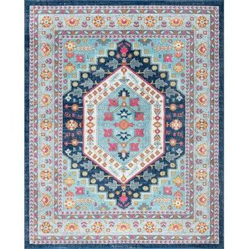Bliss Rugs Amos Traditional Area Rug