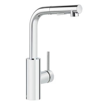 Miseno MK64 Mia Pull-Out Kitchen Faucet with Multi-Flow Spray Head