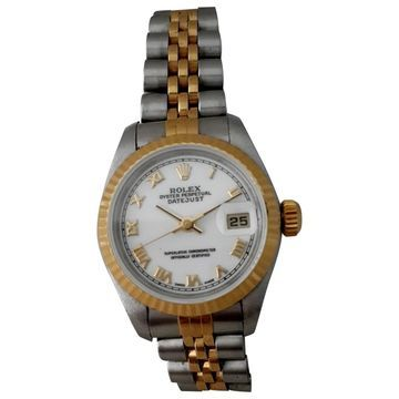 Vintage Rolex Lady DateJust 26mm White gold and steel Watches