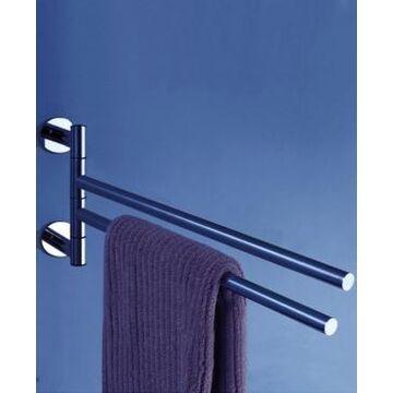 "Nameeks General Hotel 14"" Double Swivel Towel Bar Bedding"