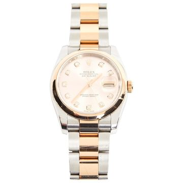Rolex Lady DateJust 28mm Pink Steel Watches