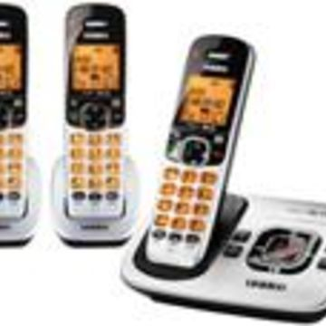 Uniden D1780-3-R DECT 6.0 Cordless Phone w/ 2 Extra Handsets
