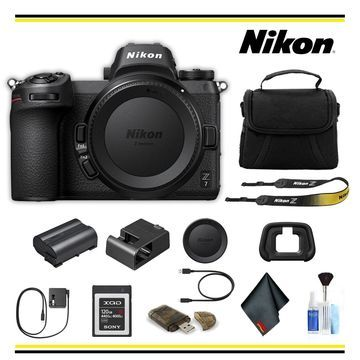 Nikon Z7 Mirrorless Digital Camera Bundle - (Intl Model)