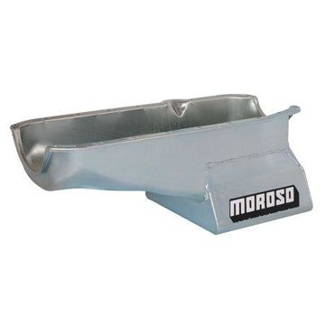 Moroso Street/Strip Engine Oil Pan 8-1/4 in Deep Small Block Chevy P/N 20200