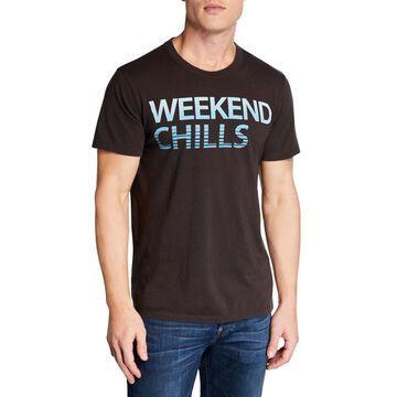 Men's Weekend Chills Printed Cotton T-Shirt