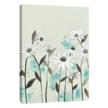 Ptm Images, Alabaster Garden 4 Decorative Canvas Wall Art
