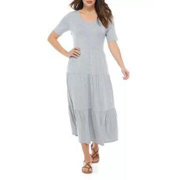 Ronni Nicole Women's Tiered Midi Dress -