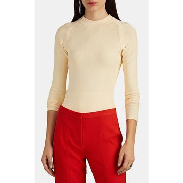Narciso Rodriguez Compact-Knit Sweater