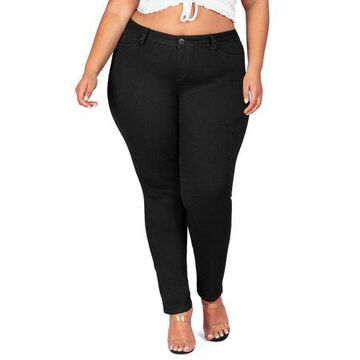 YMI Jeans Juniors' Plus Size Super Soft Stretch Jegging
