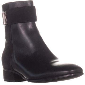Aquatalia Lupita Ankle Boots, Black - 7.5 US