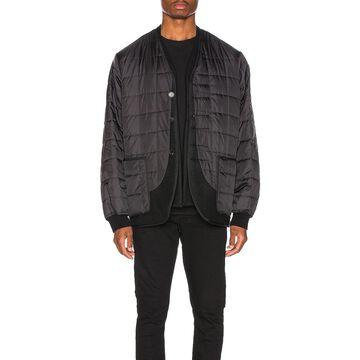 Haider Ackermann Double Layer Jacket in Black   FWRD