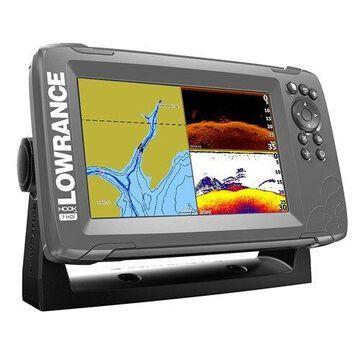 Lowrance 000-14289-001 Hook2-7 Fishfinder w/ SplitShot HDI Transducer & C-MAP